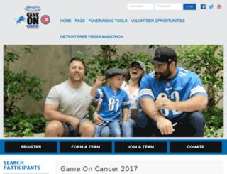 fundraise.henryford.com screenshot