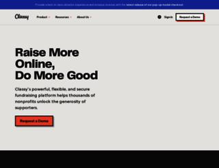 fundraise.hope-link.org screenshot