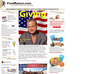 fundraisers.com screenshot