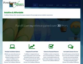 fundraisersoftware.com screenshot