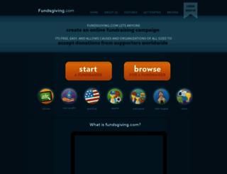 fundsgiving.com screenshot