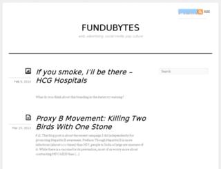 fundubytes.blogspot.com screenshot