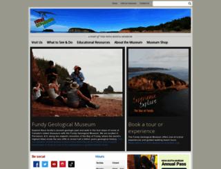 fundygeological.novascotia.ca screenshot