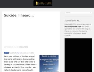 funeralfriend.co.uk screenshot