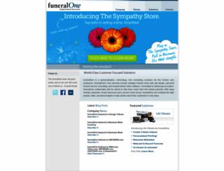 funeralone.com screenshot
