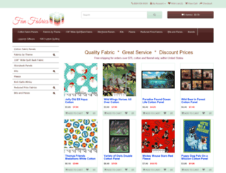 funfabrics.com screenshot