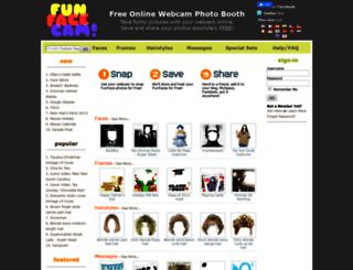 funfacecam.com screenshot