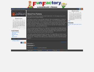 funfactorycomic.com screenshot