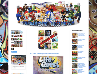 fungamez4you.blogspot.com screenshot