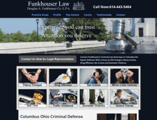 funkhouserlaw.com screenshot