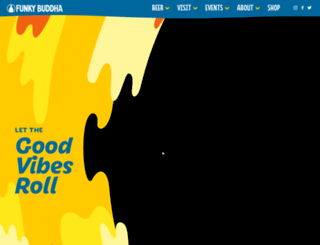 funkybuddhabrewery.com screenshot