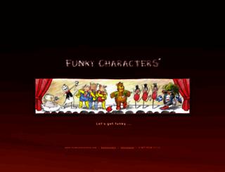 funkycharacters.com screenshot