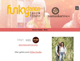 funkydance.ch screenshot