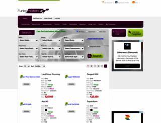 funkymotors.ie screenshot
