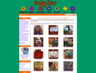 funkyraw.com screenshot
