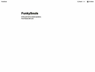 funkysouls.com screenshot