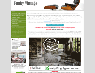 funkyvintage.be screenshot