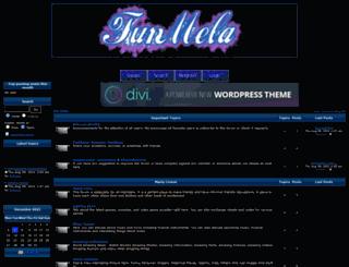 funmela.forumotion.com screenshot