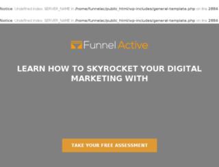 funnelactive.com screenshot