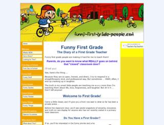 funny-first-grade-people.com screenshot