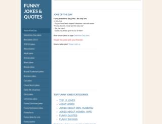 funny-jokes-quotes.com screenshot