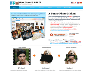 funny-photo-maker.com screenshot