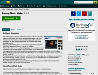 funny-photo-maker.soft112.com screenshot