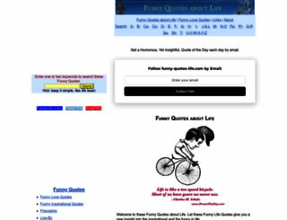 funny-quotes-life.com screenshot