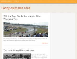 funnyawesomecrap.com screenshot