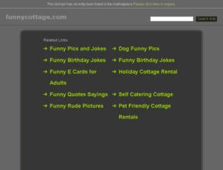 funnycottage.com screenshot