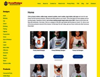 funnydesigns.com screenshot