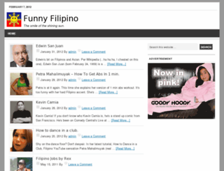 funnyfilipino.com screenshot