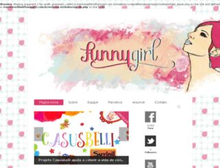 funnygirl.com.br screenshot