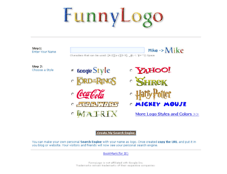 funnylogo.net screenshot