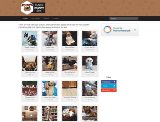 funnypuppysite.com screenshot