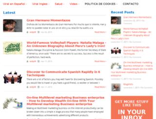 funnyvirales.com screenshot