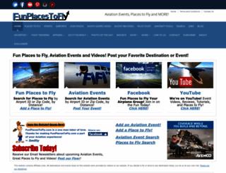 funplacestofly.com screenshot