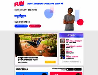 funradio.be screenshot