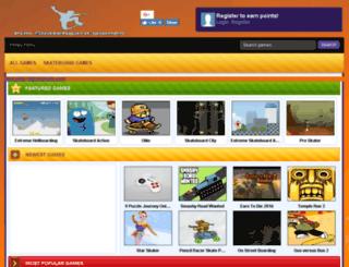 funskateboardgames.com screenshot