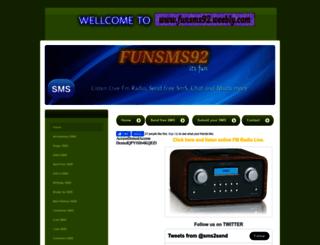 funsms92.weebly.com screenshot