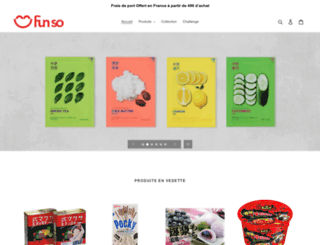 funso-shop.com screenshot