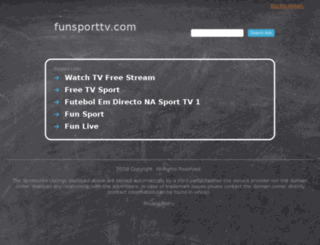 funsporttv.com screenshot