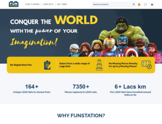 funstation.in screenshot