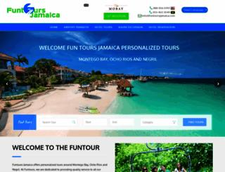 funtoursjamaica.com screenshot