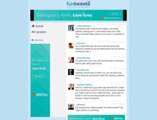 funtweets.com screenshot