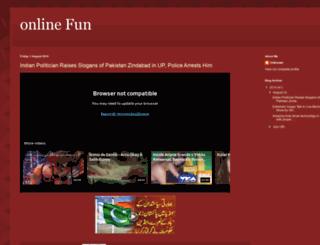 funvidonline.blogspot.com screenshot
