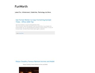 funworth.blogspot.com screenshot