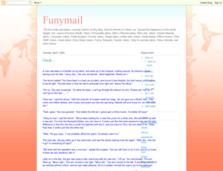 funymail.blogspot.com screenshot