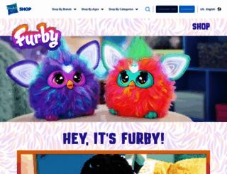 furby.com screenshot