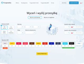 furgonetka.pl screenshot